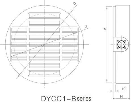 DYCC1 series EP Magnetic chuck